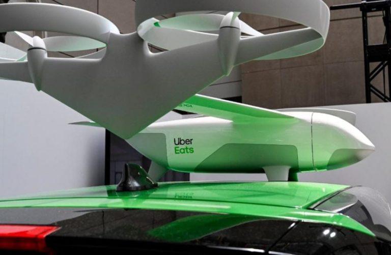 Uber-eats-drone-de-livraison